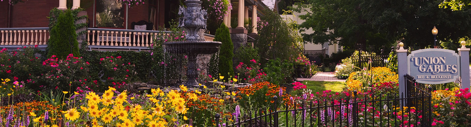 Union Gables Mansion Inn, located in the heart of Saratoga Springs ...