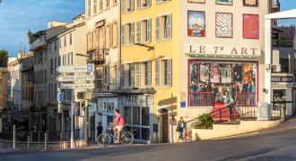 Cannes Stadtzentrum