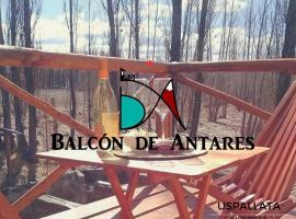Balcon de Antares, Uspallata