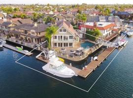 HB-163 - Huntington Harbor Luxury Four-Bedroom Holiday Home, Huntington Beach