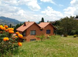 Habitación Privada en La Cabaña Rústica, 麦德林