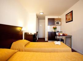 巴黎圣但尼普莱耶尔阿德吉奥公寓式酒店, 圣但尼