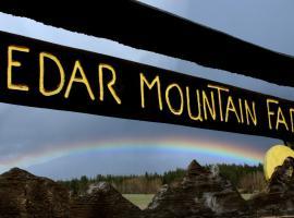 Cedar Mountain Farm Bed and Breakfast LLC