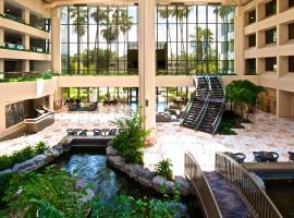 棕榈滩花园-PGA大道希尔顿合博套房酒店