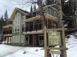 Peaks Bed and Breakfast, 太阳峰