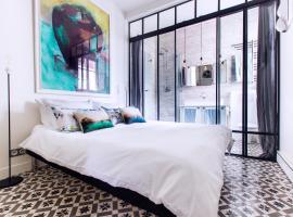 Romantic Artist Room Montmartre B&B