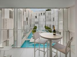 Beautiful apartments Patio Blanco