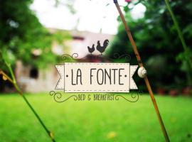B&B La Fonte, Castelgomberto