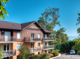 Zenitude Hôtel-Résidences Les Terrasses du Lac, Évian-les-Bains