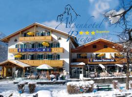 Alpenhotel Rieger, ميتنوالد