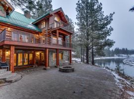 Deschutes Log Home, Three Rivers