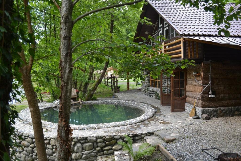 База отдыха Тефия, Гагра, Абхазия