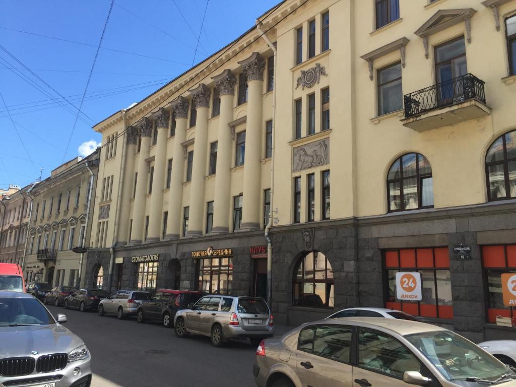 Отель Золотая середина, Санкт-Петербург