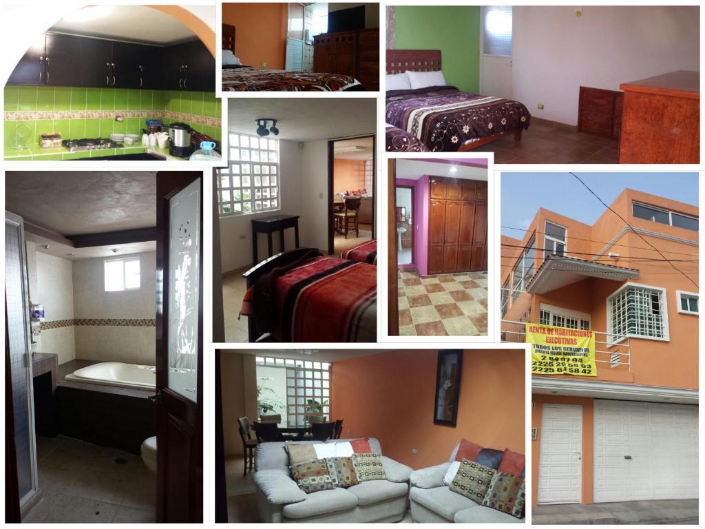 Гостевой дом MJ Habitaciones Puebla., Пуэбла