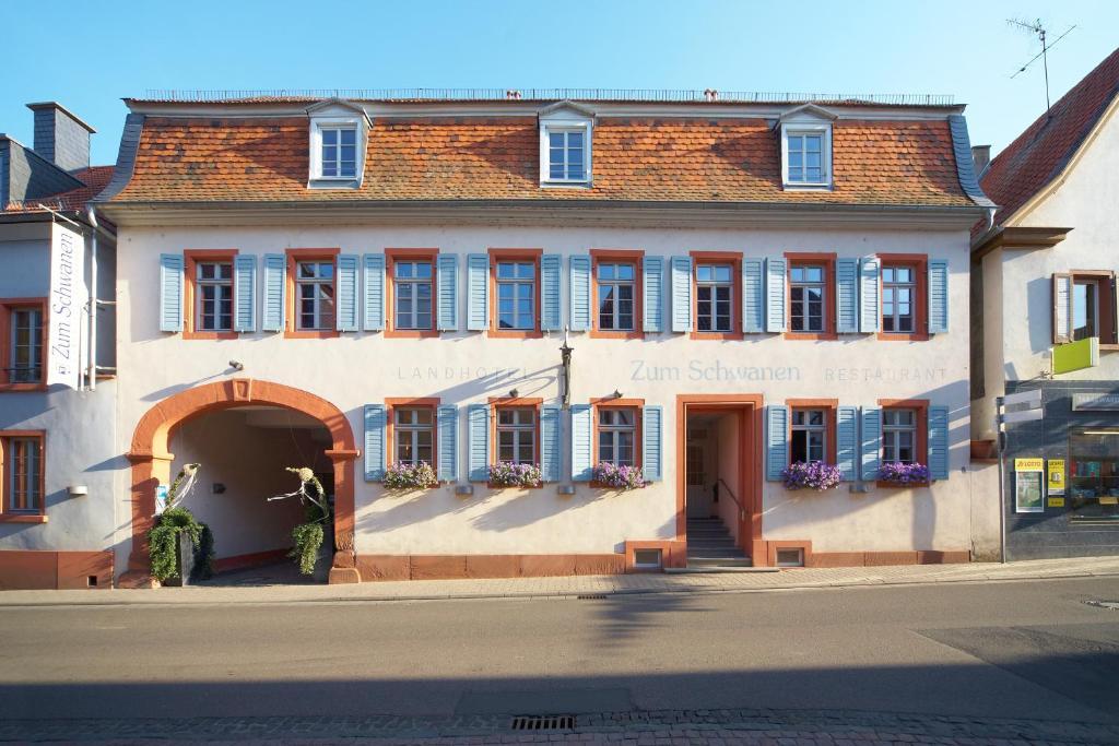 landhotel zum schwanen deutschland osthofen. Black Bedroom Furniture Sets. Home Design Ideas