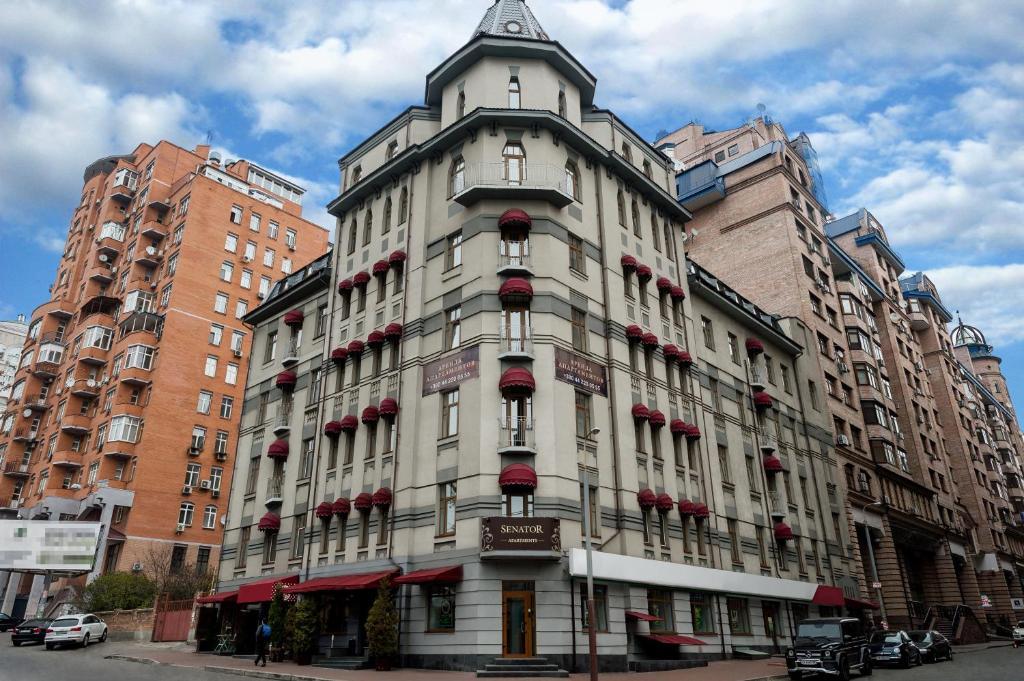Апарт-отель Senator Apartments Executive Court, Киев, Украина