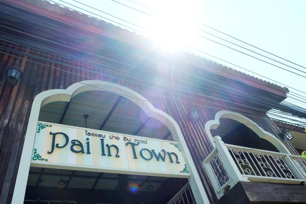 Отель Pai In Town, Пай