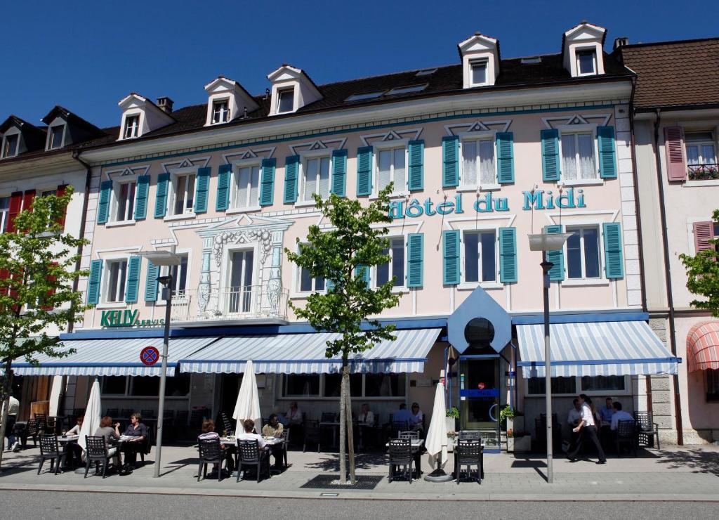 Hôtel du Midi, Делемон, Швейцария