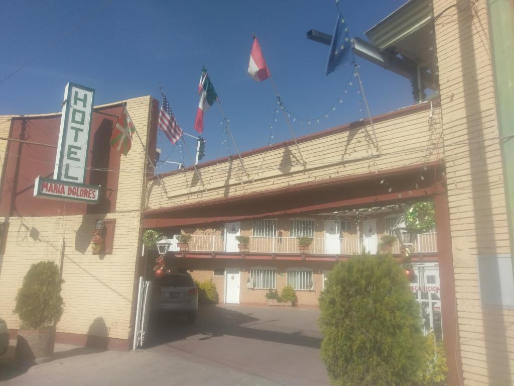 Отель Hotel María Dolores, Чиуауа