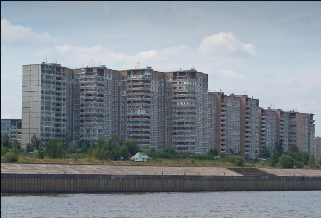 3 rooms apartment with volga view