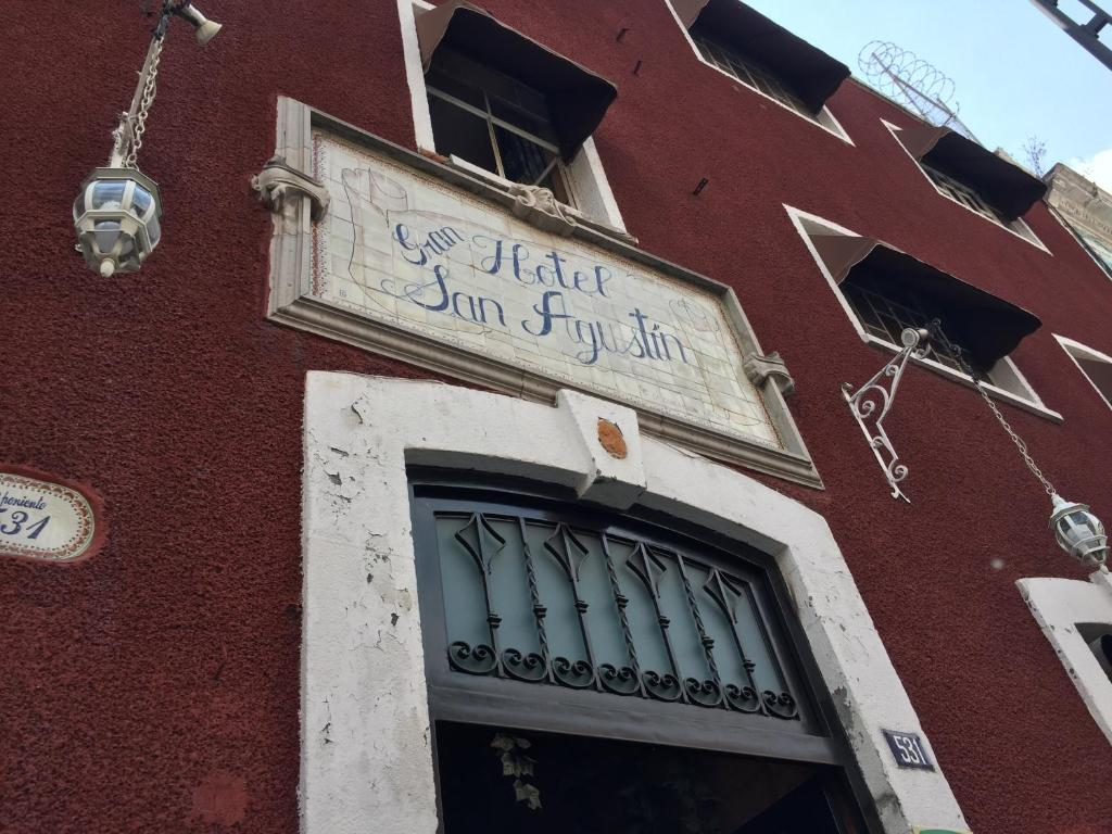 Отель Hotel San Agustin, Пуэбла
