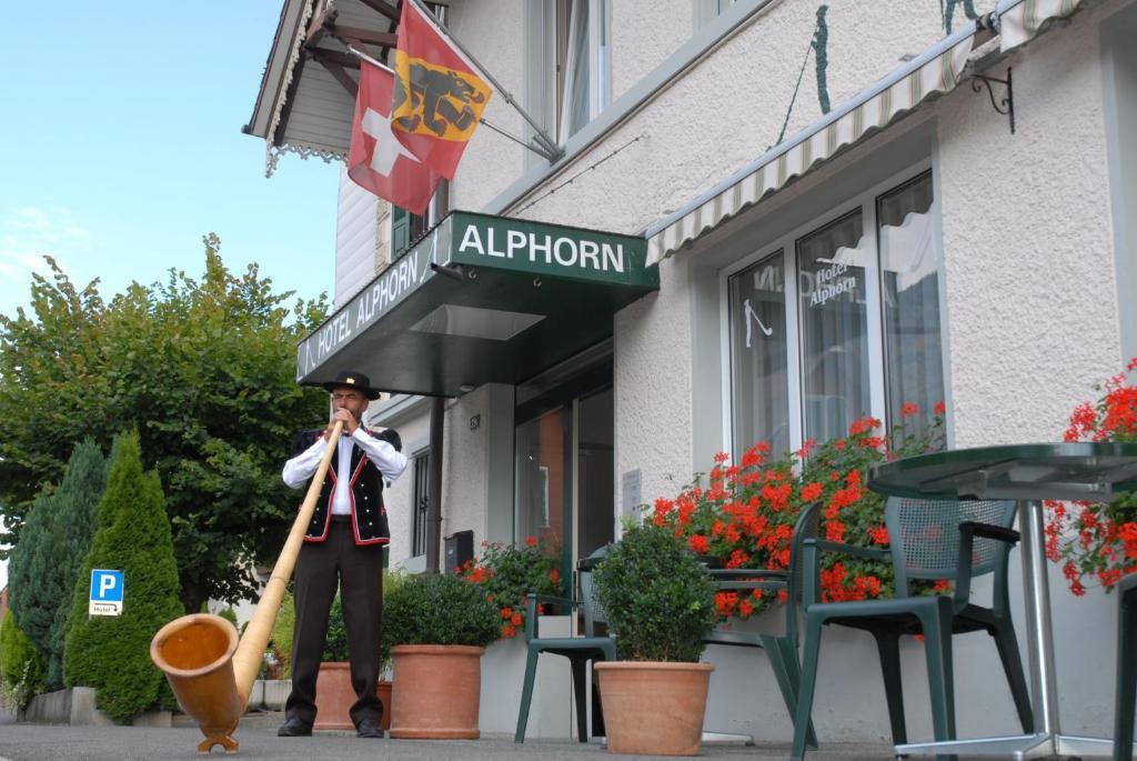 Hotel Alphorn, Интерлакен, Швейцария