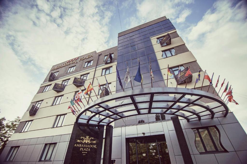 Отель Ambassador Plaza, Киев, Украина
