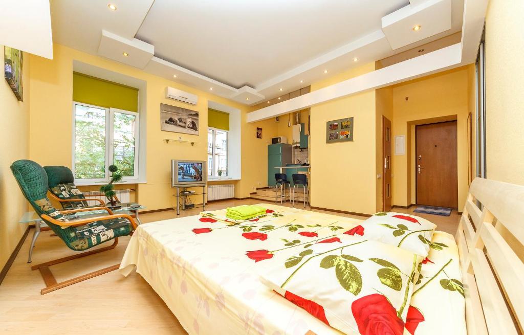 Luxrent apartments на Бессарабрке, Киев, Украина
