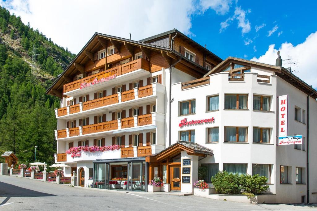 Hotel Portjengrat, Саас-Альмагель, Швейцария