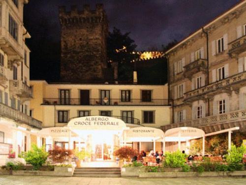 Hotel Croce Federale, Беллинцона, Швейцария