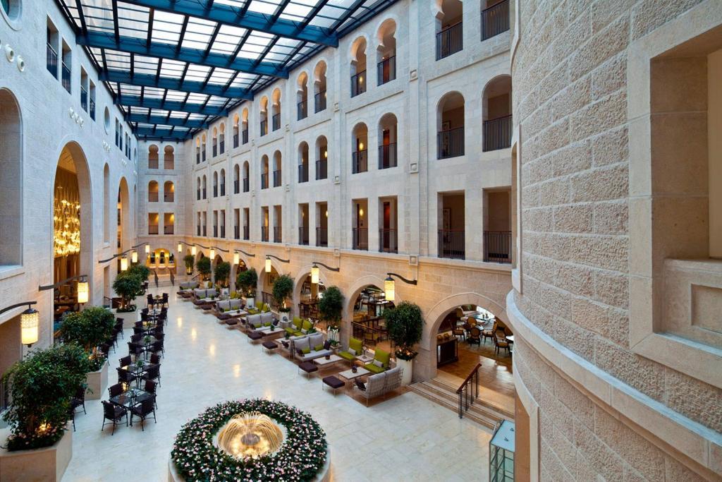 Hotel Foyer Gerusalemme : מלון וולדורף אסטוריה ירושלים מחירים מעודכנים