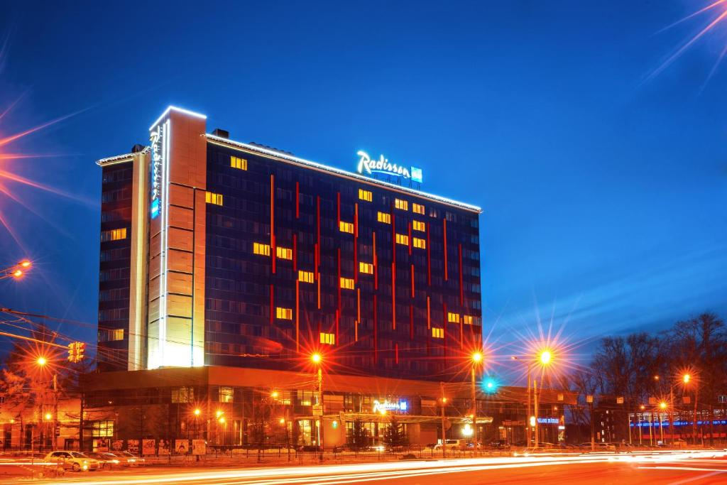 Отель RADISSON BLU HOTEL CHELYABINSK, Челябинск