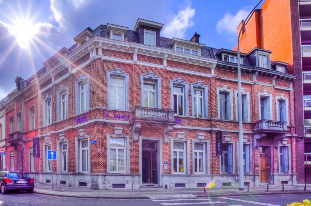 Hotel St James, Монс, Бельгия