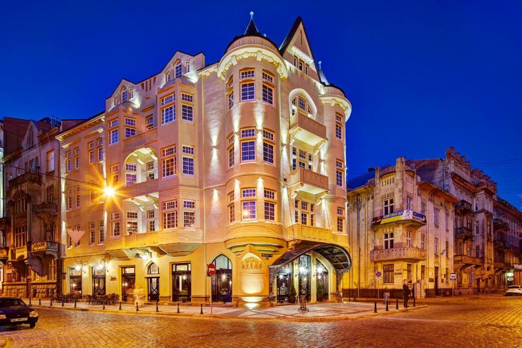 Отель Atlas Deluxe, Львов, Украина