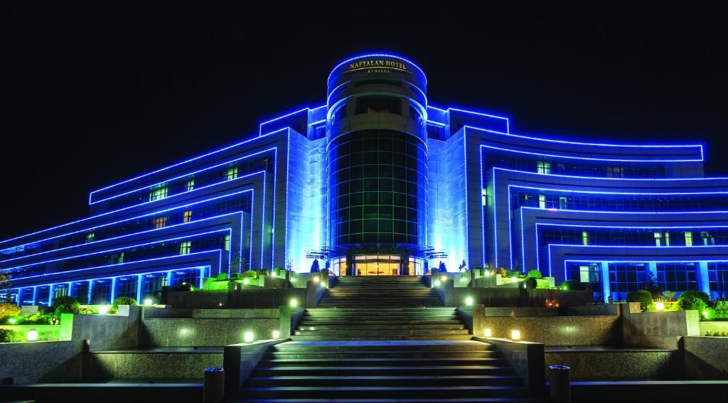 Курортный отель Naftalan Qashalti