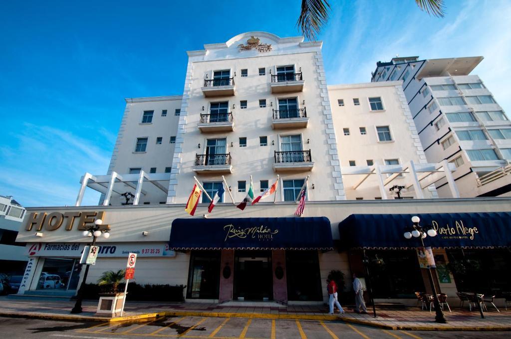 Отель Hotel Ruiz Milán, Веракрус