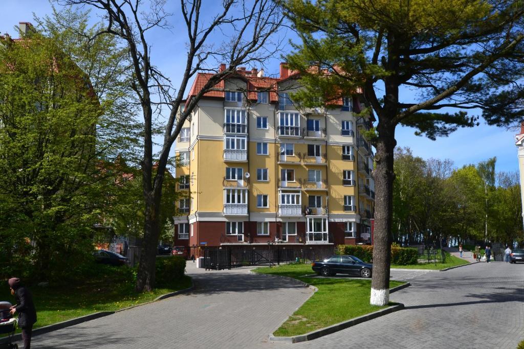 Апартаменты Вид на море на Комсомольской, Пионерский