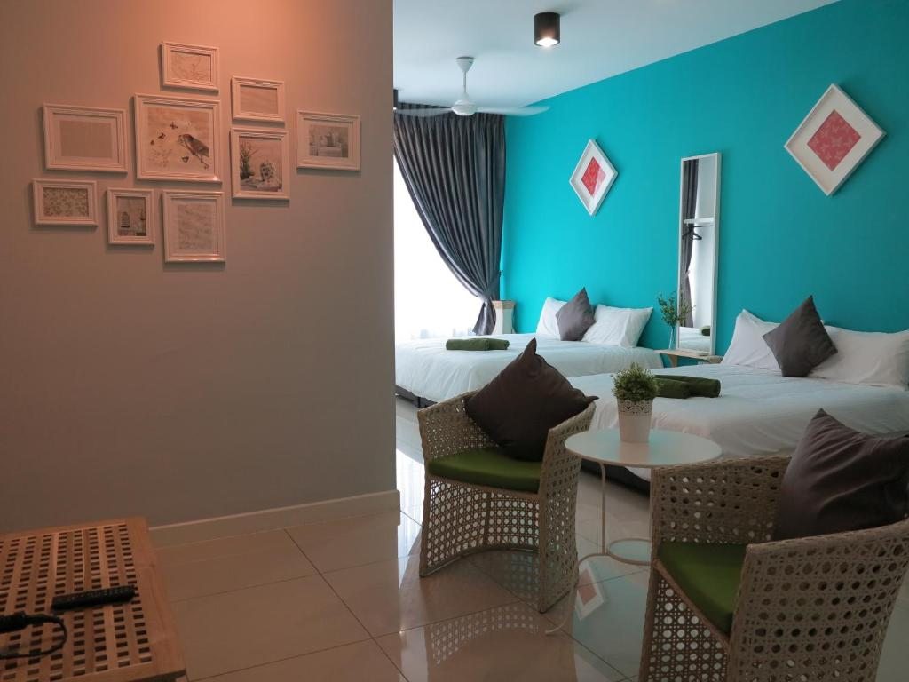Lse greenfield private apartment lse lse for Simple living room design malaysia