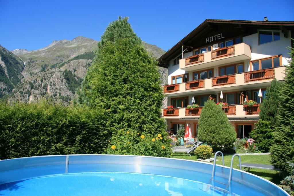 Aparthotel Montana, Грэхен, Швейцария