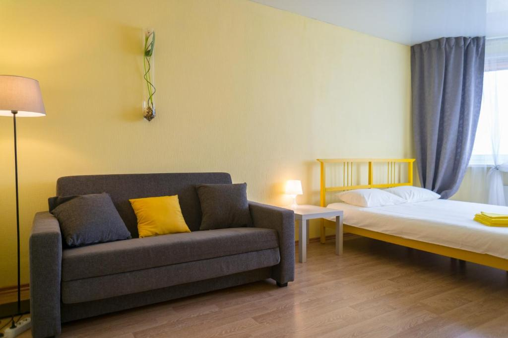 Апартаменты Yellow Rooms на Подмосковном бульваре, Красногорск