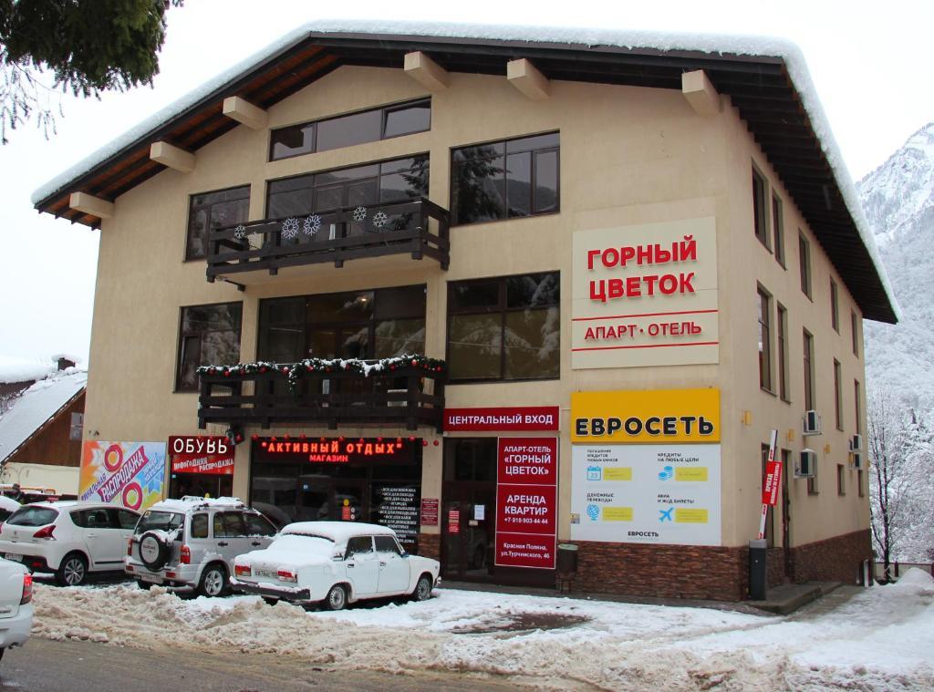 Апартаменты Горный Цветок, Красная Поляна
