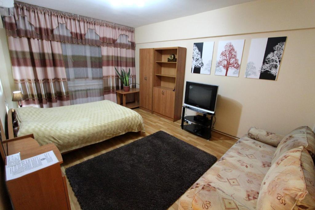 Апартаменты Надежда на Жибека Жолы 33, Алматы, Казахстан