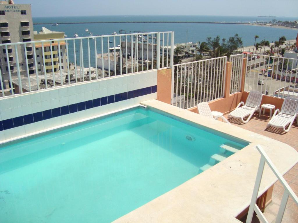 Отель Hotel Posada del Carmen, Веракрус