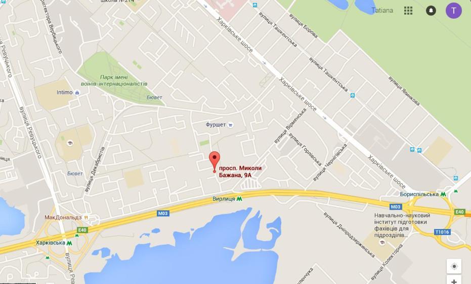 Апартаменты Левый Берег, Киев, Украина