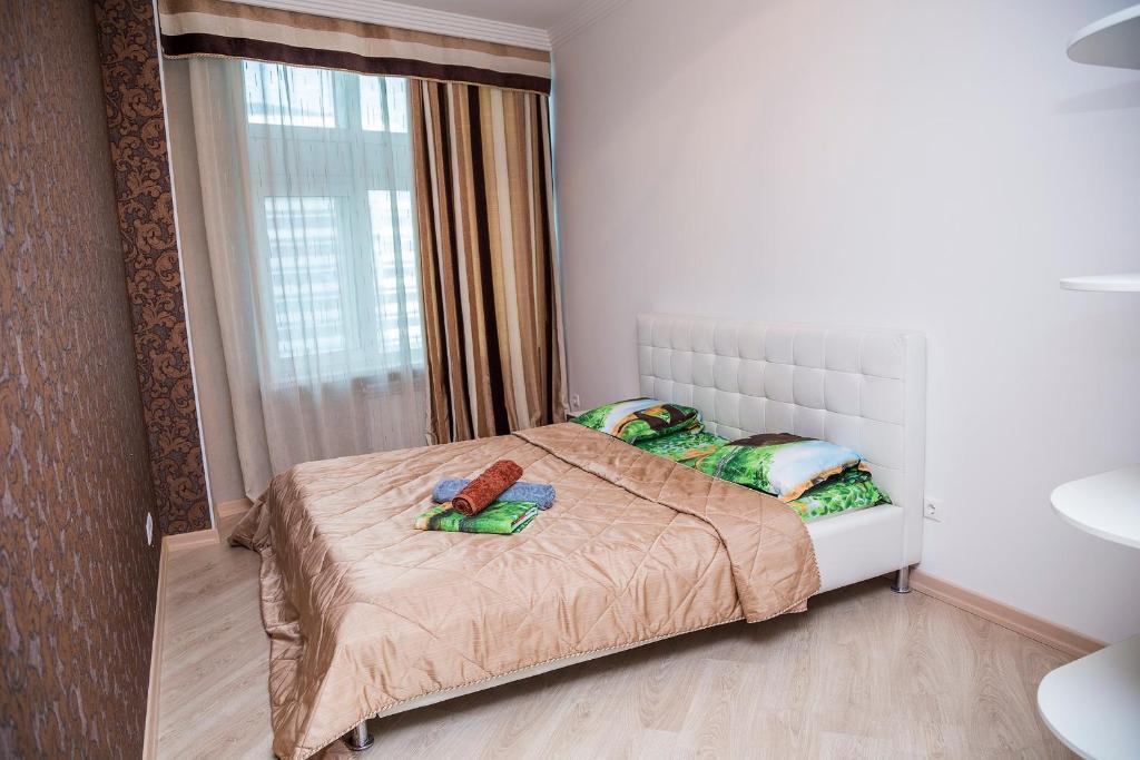 Апартаменты Водно-Зеленый бульвар 2, Астана, Казахстан