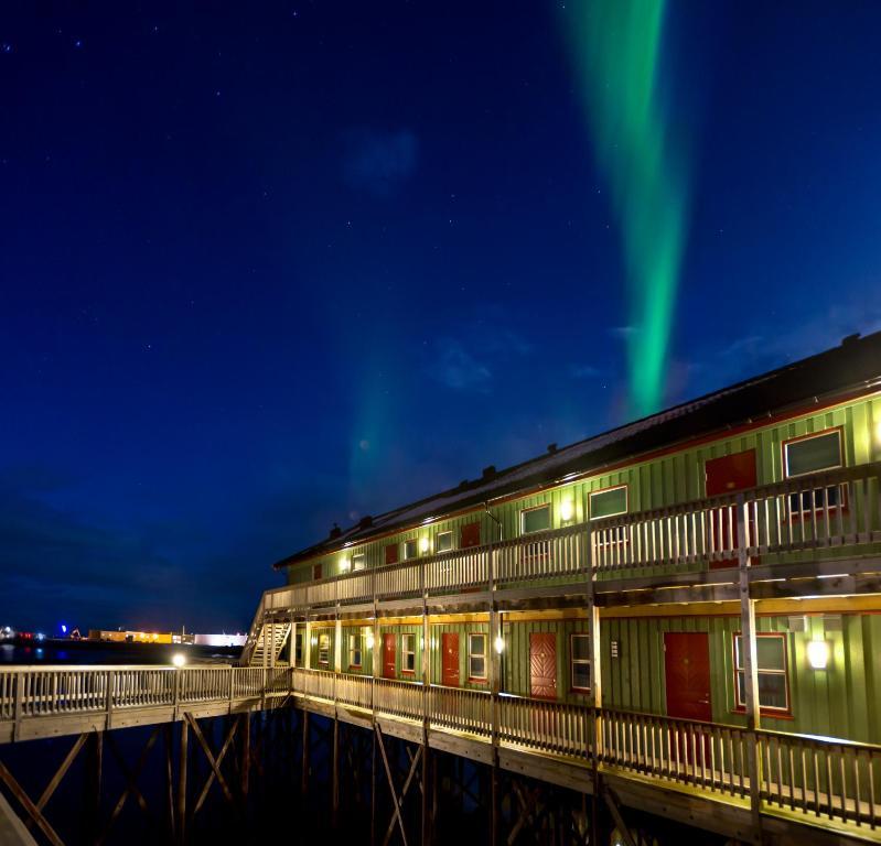 Grønnbuene Rorbu Hotel, Анденес, Норвегия