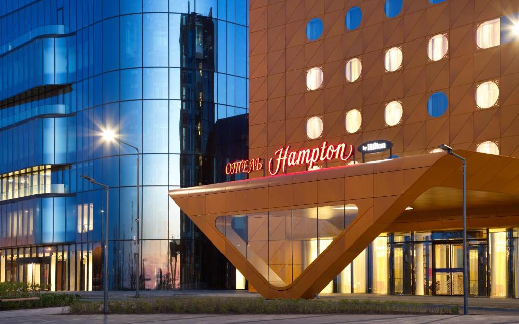 Отель Hampton by Hilton ExpoForum, Санкт-Петербург