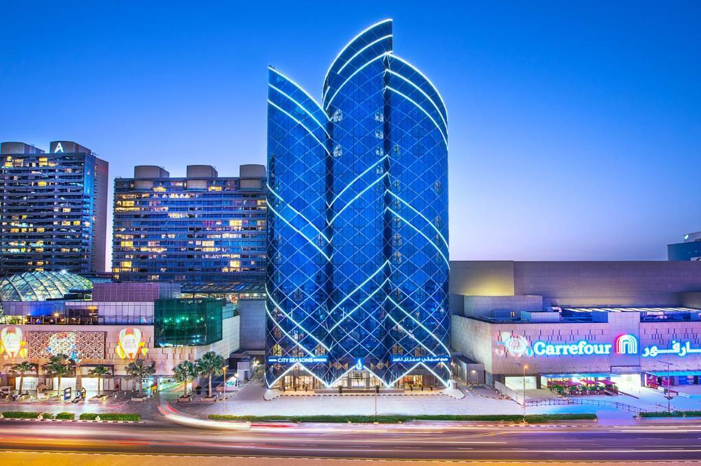 City Seasons Towers Hotel Bur Dubai, Дубай, ОАЭ