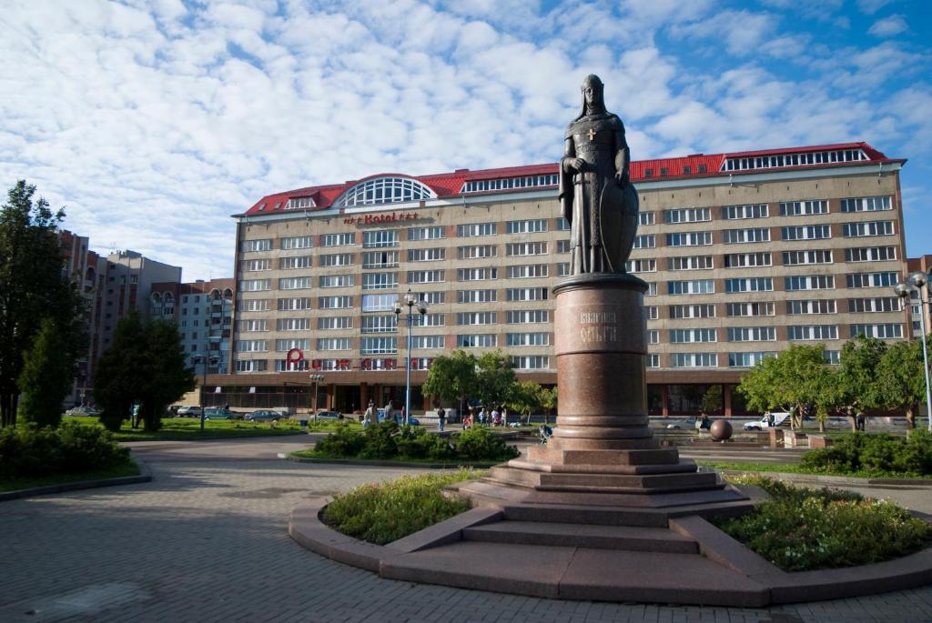 Гостиница Рижская, Псков
