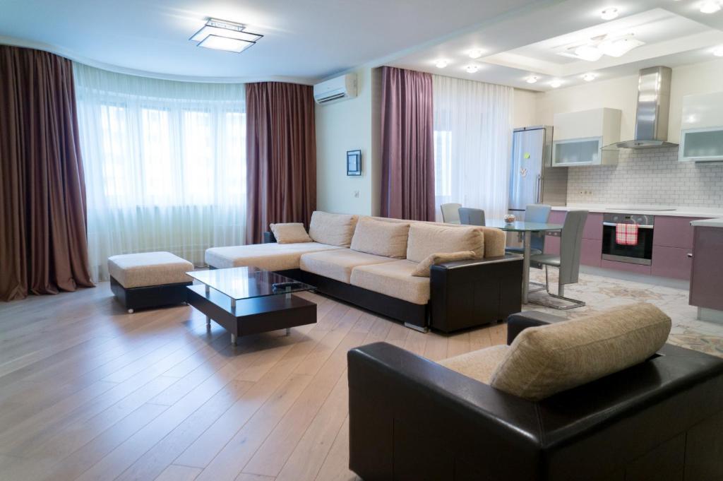 Апартаменты Yellow Rooms на Павшинском Бульваре, Красногорск